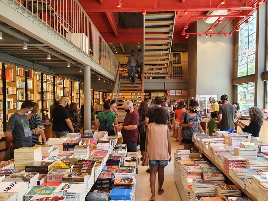 No geral, varejo de livros cresce 20% em novembro e alcança o mesmo número de exemplares vendidos em 2019. Resta perguntar apenas: onde esses livros foram vendidos? |© Divulgação / Livraria da Travessa