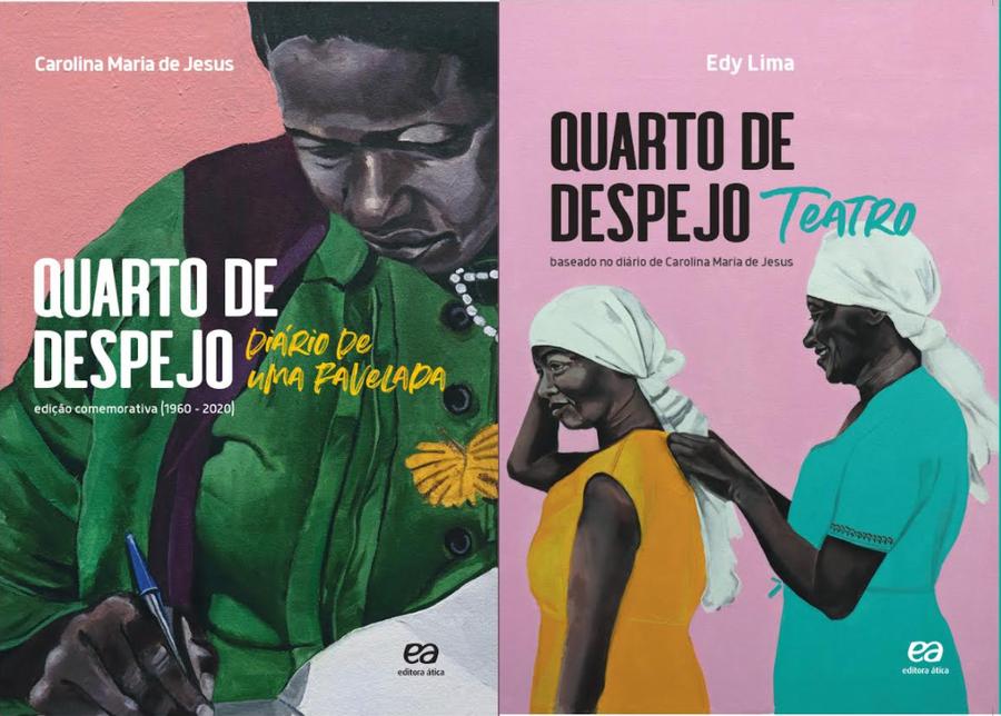 O PublishNews teve acesso em primeira mão às capas das edições comemorativas de 60 anos de 'Quarto de despejo'