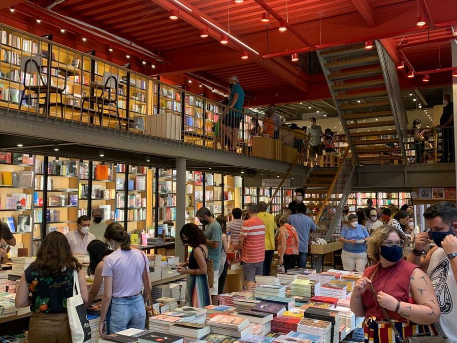 Em 2020, o Painel do Varejo de Livros registrou a venda de 41,9 milhões de cópias | Divulgação / Livraria da Travessa