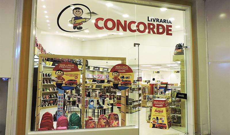 Com seis unidades em Manaus, a Livraria Concorde é uma que poderá ser impactada pelas novas medidas do governo do Amazonas | © Reprodução do site do Sumaúma Park Shopping