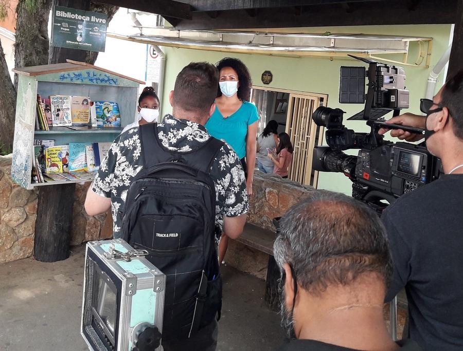 Projeto Piracaia na Leitura ganhou destaque na TV Cultura   © Redes Sociais do projeto