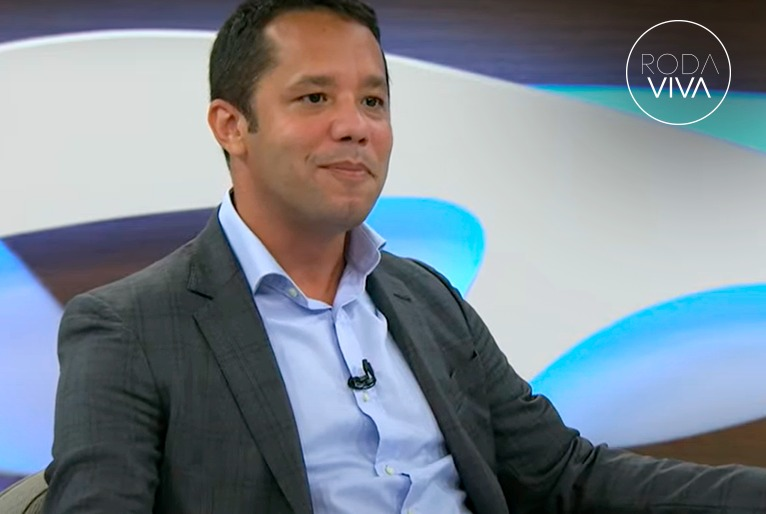 Itamar Vieira Junior no programa Roda Viva na última semana | © Divulgação / Roda Viva / TV Cultura