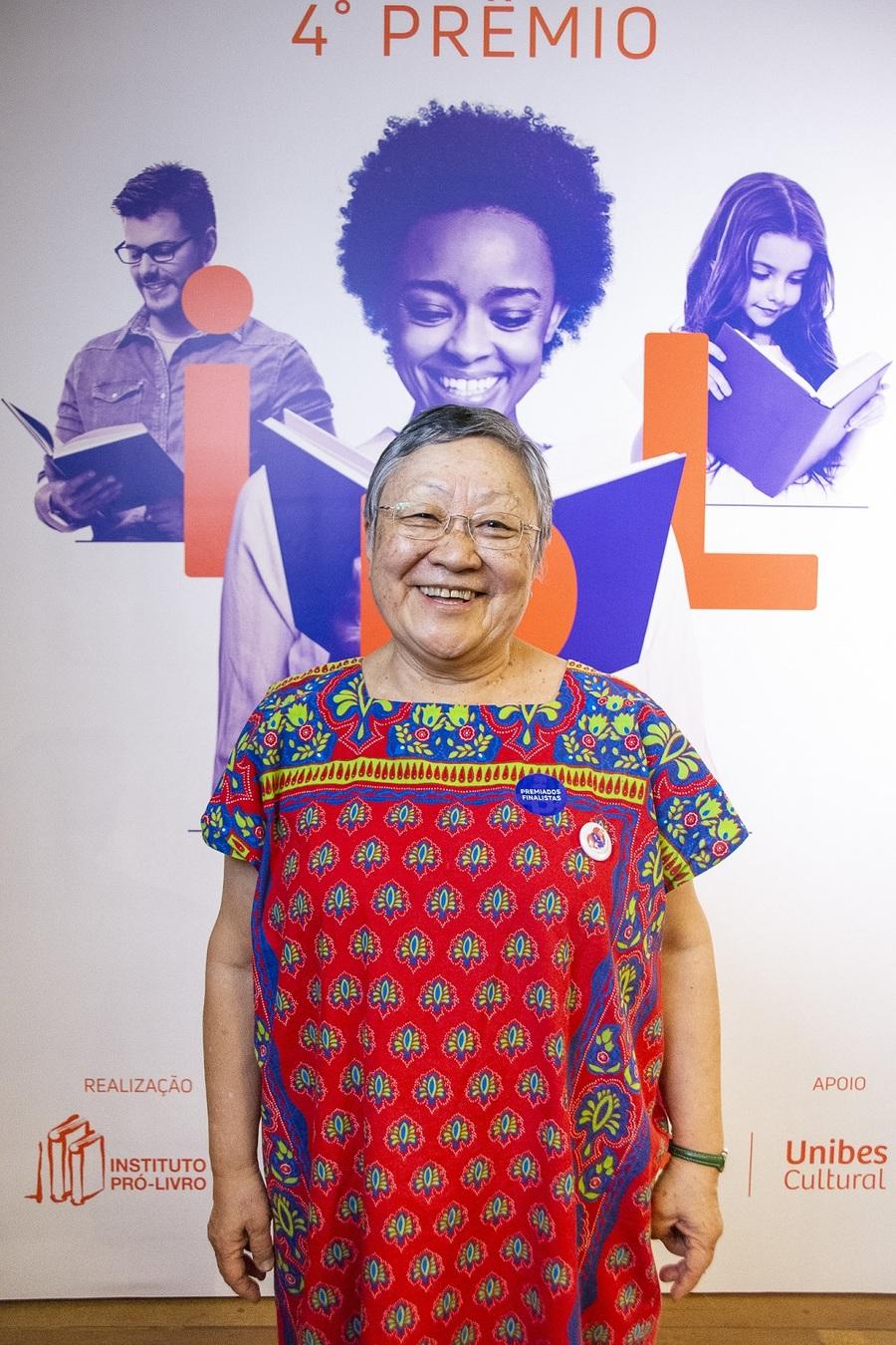 Marilena Nakano é idealizadora da Rede Beija-Flor, projeto vencedor do 4º Prêmio IPL   © Daniela Ramiro