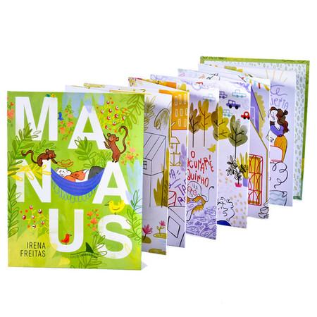 Irena Freitas é autora do livro 'Manaus', publicado pela Barbatana. Ela é uma das finalistas | © Reprodução - site da editora