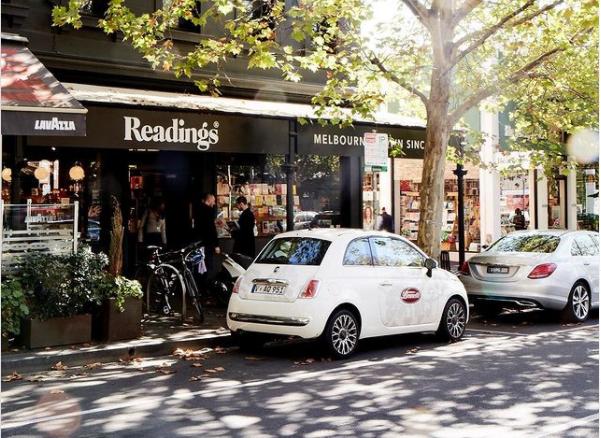 Fachada da Readings, livraria de Melbourne   © Redes sociais da livraria