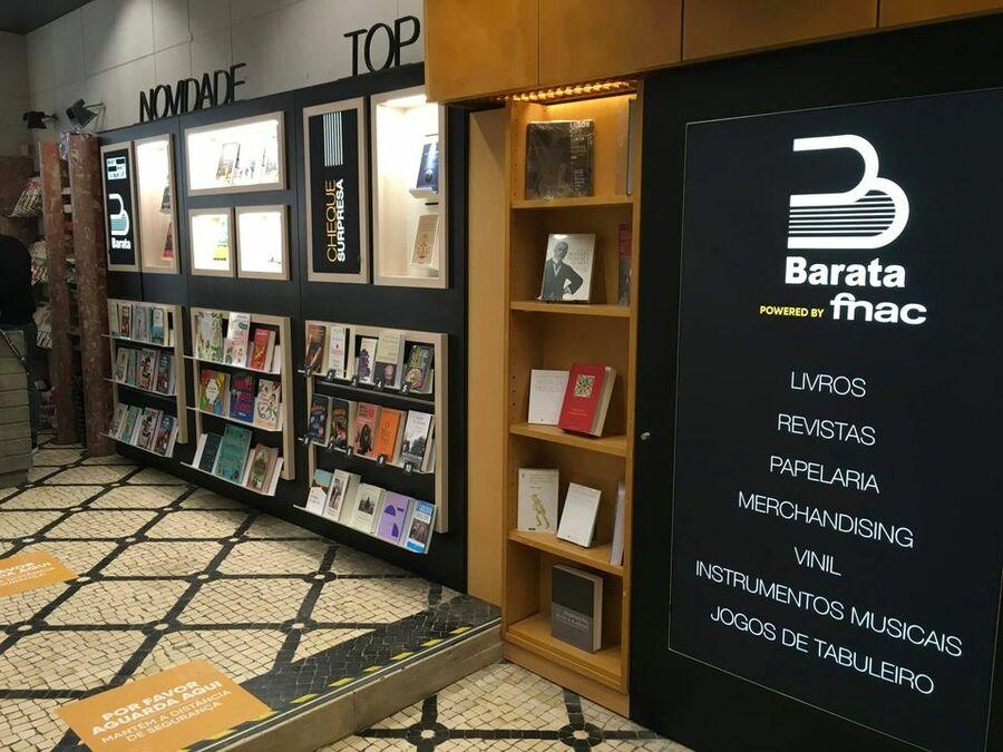 Livraria Barata powerd by Fnac: a gigante de origem francesa viu a importância de pontos de venda na rua, fora dos shoppings | © Facebook da varejista