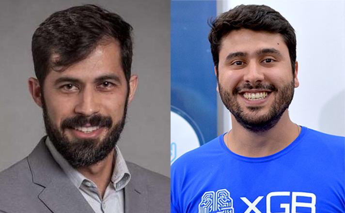 Vicente e Pablo vão discutir as possibilidades da RA para o mercado editorial num webinar marcado para o próximo dia 27