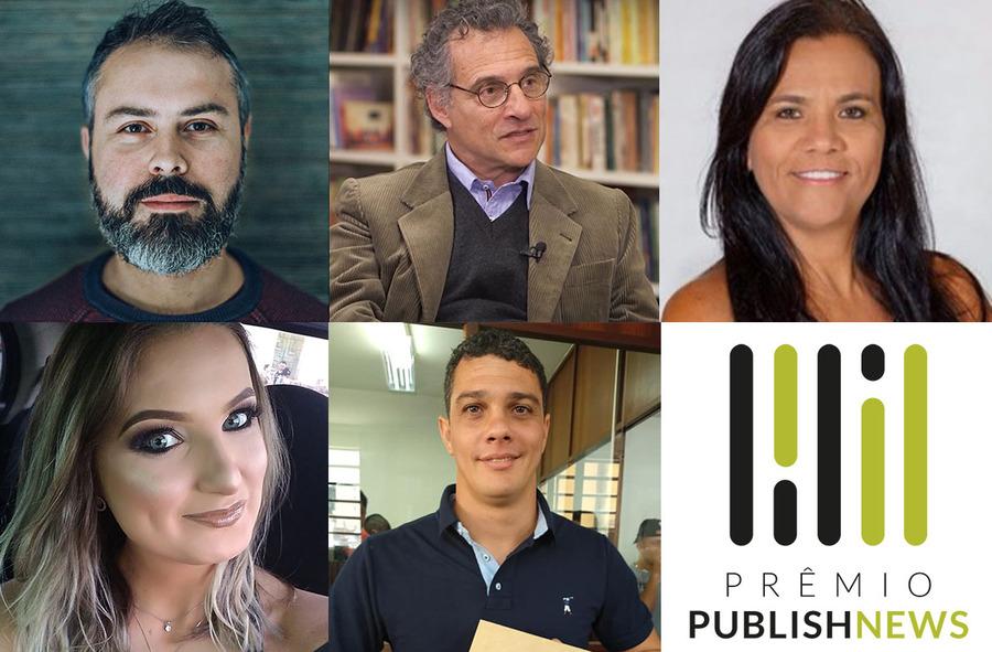 Eduardo Krause, Marcelo Levy, Neyde Cortes, Priscila Ceconelo Silva e Wendel Isler são os finalistas do Prêmio PublishNews 2020