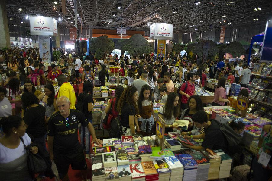 A imagem de uma Bienal do Livro Rio repleta de gente não deverá se concretizar em 2021 | © Divulgação