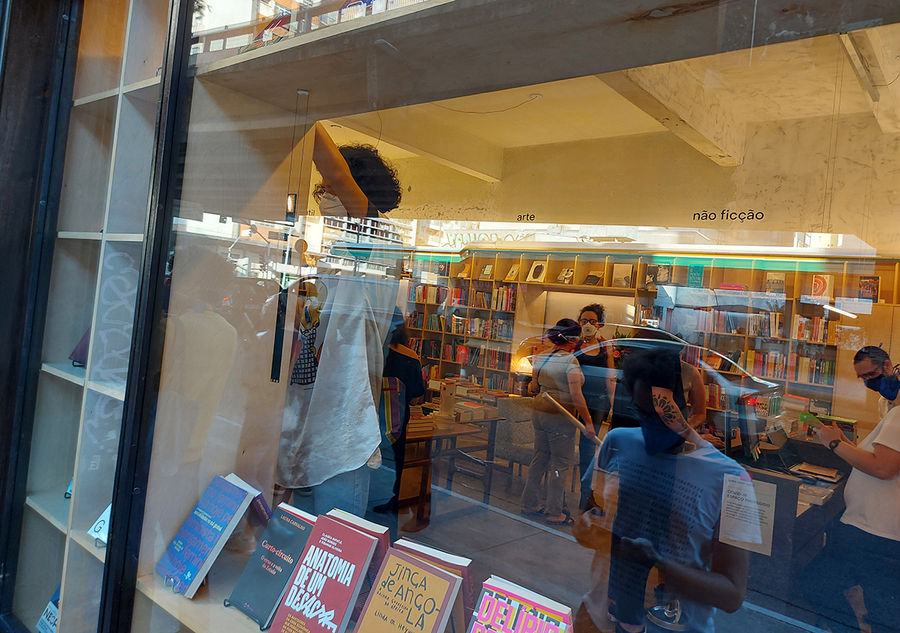 Livraria gato sem rabo, recém-inaugurada em SP | © Leonardo Neto