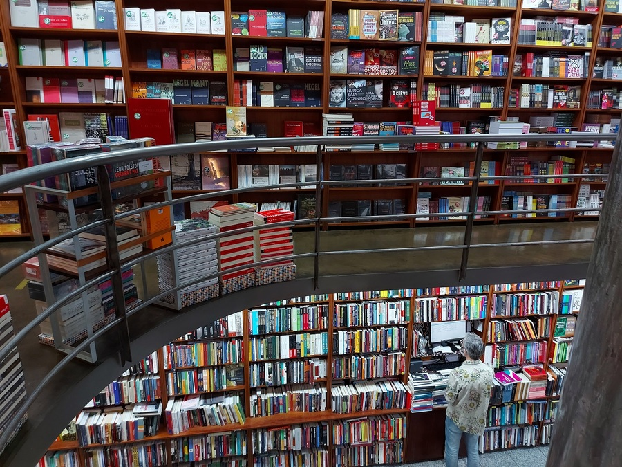 Livraria Martins Fontes, na região central de SP | © Leonardo Neto