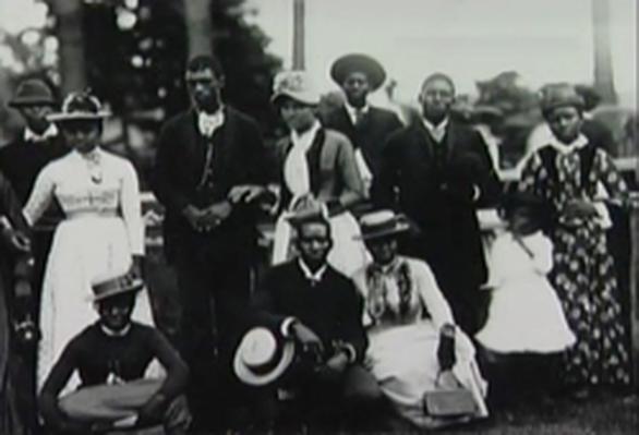 Negros que viviam em Wilmington antes da insurreição de 1898, tema do livro Wilmington's lie, vencedor do Pulitzer de Não Ficção | © Public Broadcasting Station / WikiCommons