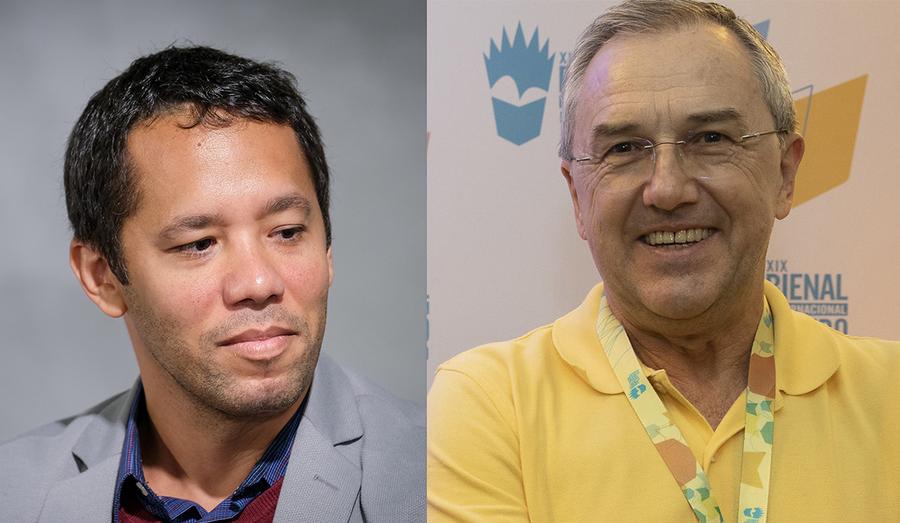 Itamar Vieira Junior e Laurentino Gomes