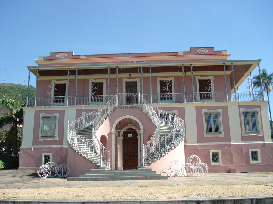 Fachada do Museu Histórico da cidade, que serviu de modelo para a construção da casa onde Teolinda e Joel se
