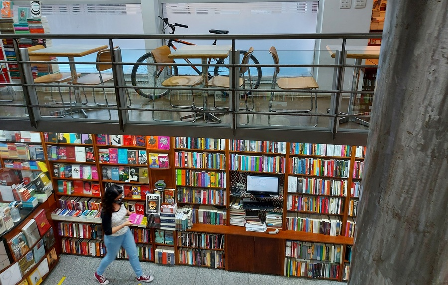 Vendas de livros crescem em junho   © Leonardo Neto