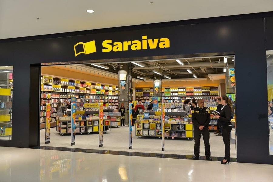 Saraiva projeta crescer 80% em 2022 e passar de 37 para 83 lojas até 2026 | © Facebook da empresa