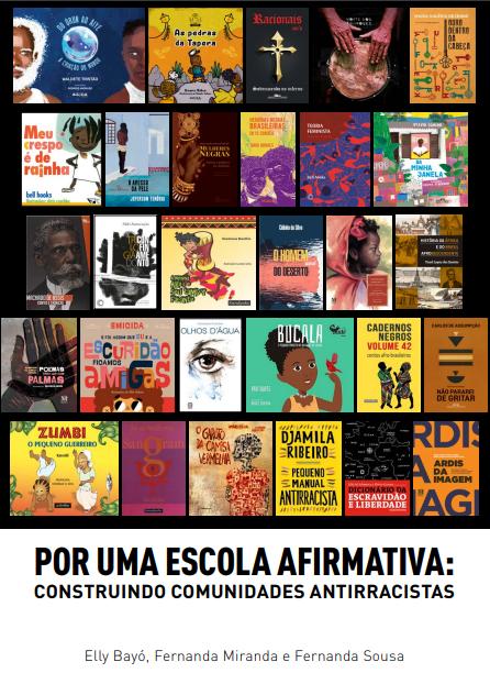 Capa do manifesto do grupo que reuniu 11 editoras pela construção de comunidades antirracista e uma escola afirmativa | Reprodução