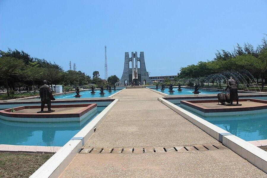Kwame Nkrumah Memorial Park em Acra | © Fquasie / Wiki Commons