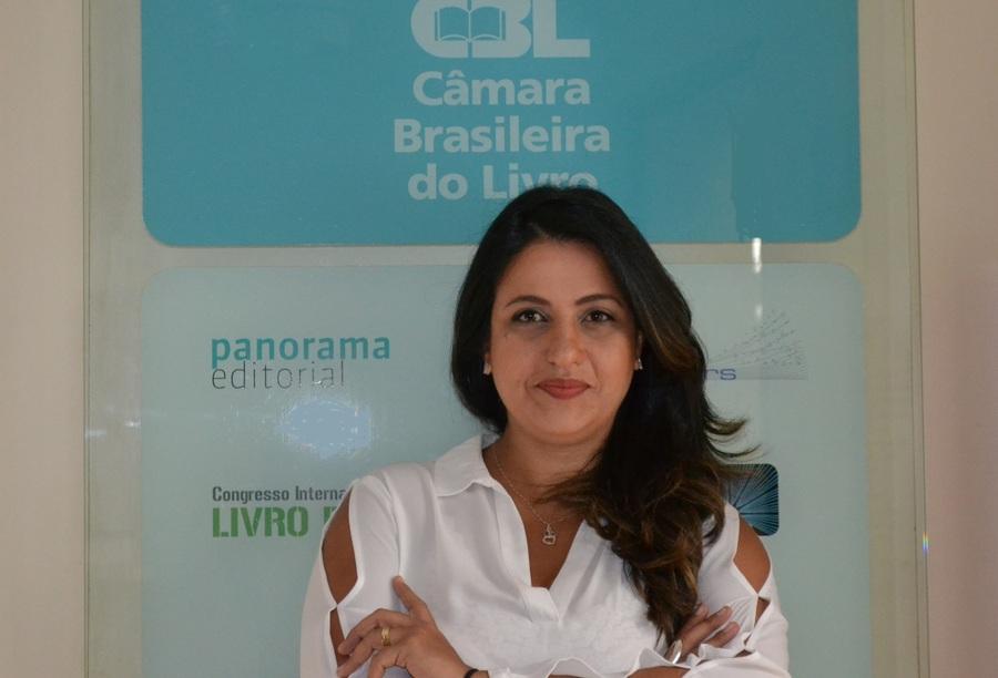 Fernanda Gomes Garcia se elege para Conselho Administrativo da Agência Internacional do ISBN | © Camila Del Nero / Divulgação CBL