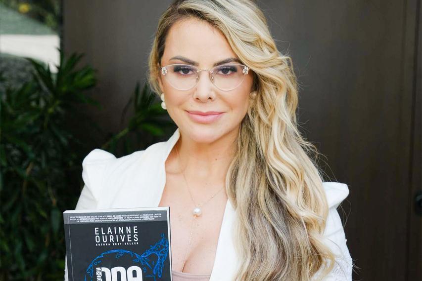Novo livro de Elainne Ourives estreia na lista com quase seis mil cópias vendias | Reprodução